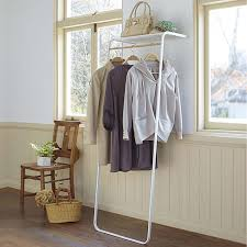 Coat Rack With Storage Space Unique Leaning Shelf Coat Rack Modern Space Saving Clever Storage