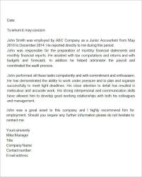 How To Write A Recommendation Letter For Employee 9 Reference Letter For Employment Examples Pdf Examples