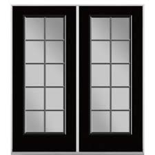 black patio doors exterior doors