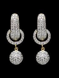 maira series american diamond earrings