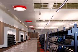 library lighting. the ladd library features same interior finishes including lighting carpet and seating