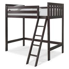 snazzy canwood furniture chic canwood loft bed
