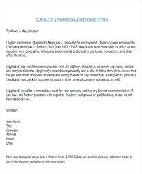 Recommendation Sample Letter For Nurses Employment Nurse