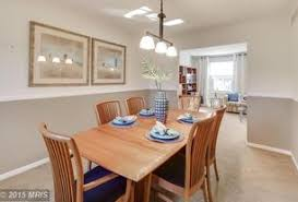 dining room with chair rail beautiful dining room chair rail design ideas