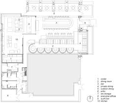 Executive Office Layout Design Mesmerizing Cafe R D Prototype Restaurant By LOHA Floor Plan Reference