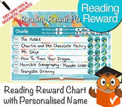 Reusable Reward Charts For Toddlers Reading Toddlers Reward Chart Personalised Magnetic Dry