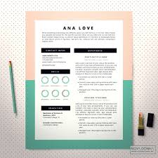 Colorful Resume Templates Template Colorful Cv Template Resume Templates Creative Download 51