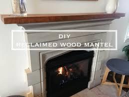 reclaimed wood fireplace mantel best of diy reclaimed wood mantel my simply simple