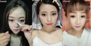 chinese s show sculpture makeup transformation
