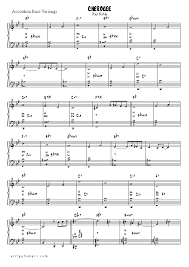 cherokee sheet music cherokee accordion sheet music