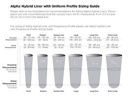 Flex Liner Sizing Chart Alpha Hybrid Liners Willowwood Free The Body Free The