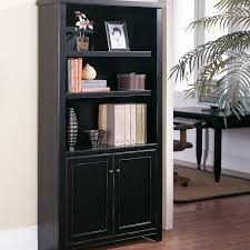 kathy ireland home by martin tribeca loft bookcase with doors