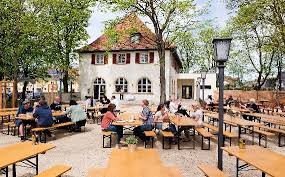 Vintage German Beer Garden Tables And Two Benches U2013 UrbanAmericanaBeer Garden Benches