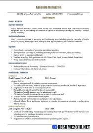 Sample Bookkeeper Resume Freelance Bookkeeper Resume Sample Resume ...