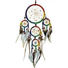 Where To Buy Dream Catchers In Singapore Rainbow Leather Dreamcatcher 9