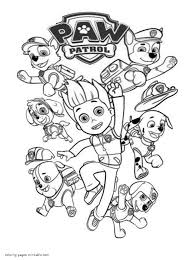Then, this kind of free coloring pages will be pleasurable for the children who like to color in many positions. Birthday Paw Patrol Coloring Pages Free Printable Adults Mighty Frozen Chase Pj Masks Anna Madalenoformaryland