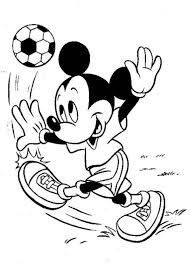 Small Picture Mickey Mouse Soccer Coloring Pages Coloring Pages