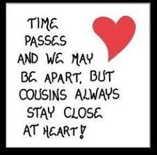 Quotes About Cousins on Pinterest | Best Cousin Quotes, Cousin ... via Relatably.com