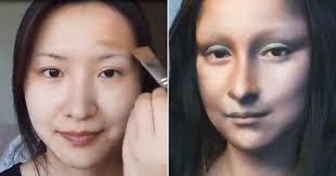 beauty vlogger from china transforms into mona lisa through stunning makeup transformation