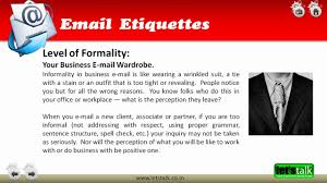 Email Etiquette Training Youtube