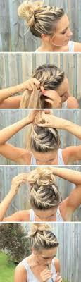 25 Sch Ne Halber Haarknoten Ideen Auf Pinterest Lange Haare