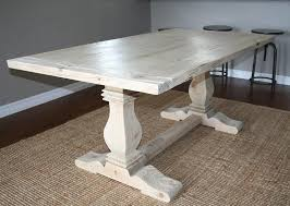 view in gallery trestle table from custom made