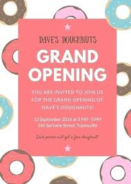 Grand Opening Invitations Grand Opening Invitation Invitations Cards On Shop Card