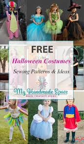 Halloween Costume Patterns Adorable FREE Halloween Costume Sewing Patterns My Handmade Space