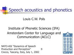 International phonetic alphabet (ipa) symbols used in this chart. Ppt Speech Acoustics And Phonetics Powerpoint Presentation Free Download Id 142109