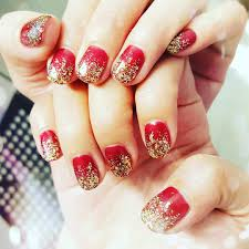 27+ Red and Gold Nail Art Designs, Ideas | Design Trends - Premium ...