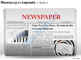 Newspaper Powerpoint Template Awesome Newspaper Layouts Style 48 Powerpoint Presentation Slides
