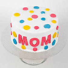 Colourful Mothers Day Chocolate Cake Half Kg Eggless Gift Cakes