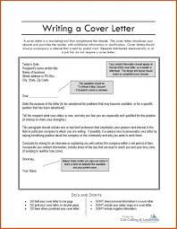How To Make Cover Letter Sop Example