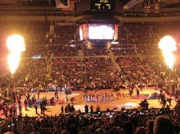 The Palace Of Auburn Hills Section 114 Home Of Detroit Pistons
