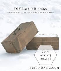 build diy igloo blocks