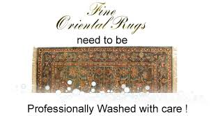 cleaning oriental area rugs in the home is a terrible idea