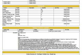 Sample Contract Summary Template Beauteous Template Library SDocs For Salesforce