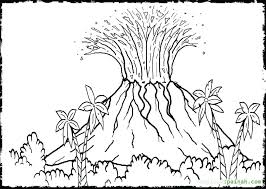 1024x728 volcano coloring pages for volcano coloring page 77 volcano