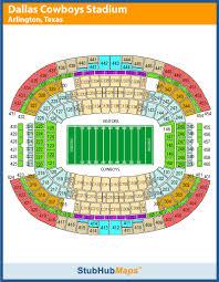 At T Stadium Mapa Asientos Imagenes Direcciones Y