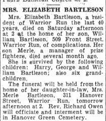 Elizabeth Bartleson - Newspapers.com