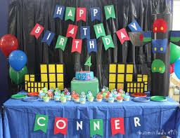 Pj Mask Party Decoration Ideas PJ Masks Birthday Conner's PJ Masks 100th Birthday Catch My Party 9