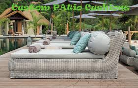 waterproof cushions for outdoor furniture. Custom Patio Cushions Replacement Waterproof For Outdoor Furniture Upholstery Los Angeles