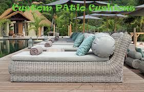 custom patio cushions replacement