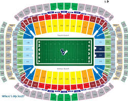 Houston Reliant Stadium Seating Chart Houston Texans Nrg Stadium Seating Chart Houston Texans