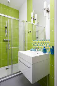 Bathroom:Lime Green Bathroom Small Bathroom Idea Small Space Lime Green  Bathroom
