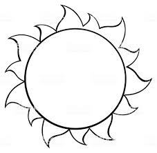 clipart black and white cartoon sun vector id588988044 book black and white drawing
