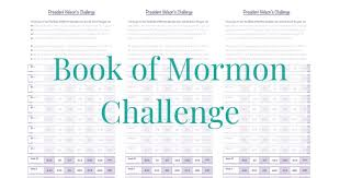 Book Of Mormon Challenge Maintaining Motherhood