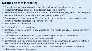 the value of mentoring women in stemm do and don t of mentoring