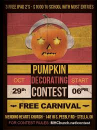 Pumpkin Carving Contest Flyers 7 Best Images Of Contest Flyer Template Pumpkin Carving Pumpkin