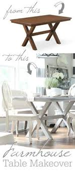 diy painted farmhouse table makeover from brown to beautiful shades of gray painted furniture